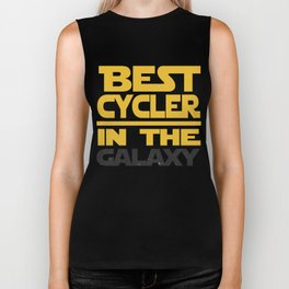 Best Cycler In The Galaxy Funny Gift Biker Tank