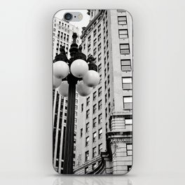 A Chicago Lamp Post iPhone Skin