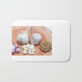 gon a wooden plank lies garlic mashed as well as knoll Bath Mat