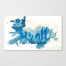 Small Cloud Canvas Print