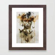 Jay Freestyle - Gaze Framed Art Print