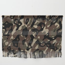 Camouflage Abstract Wall Hanging