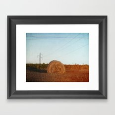 Lost needle... Framed Art Print