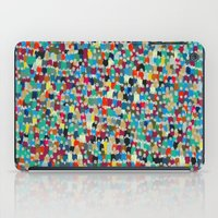 it crowd iPad Cases featuring crowd by danielrcart