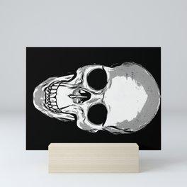 Monotone Skull Mini Art Print