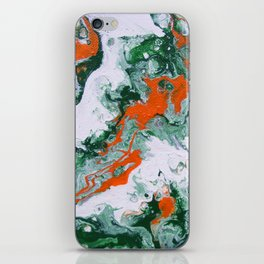 Carnival Squash Abstract iPhone Skin