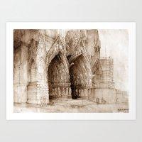 portal Art Prints featuring Portal by takmaj