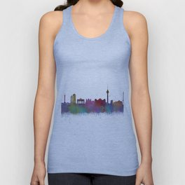 Berlin City Skyline HQ4 Unisex Tank Top