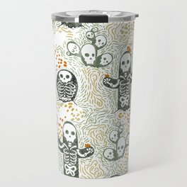Skeleton Cacti Travel Mug