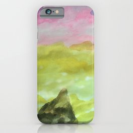 Meet me between Earth and Sky iPhone Case