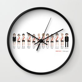 River Plate - All-time squad Wall Clock