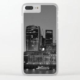London Skyline Clear iPhone Case