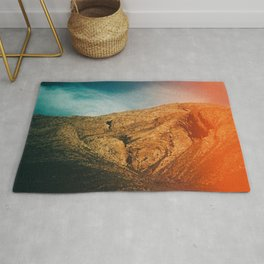 love is in the mountain Rug