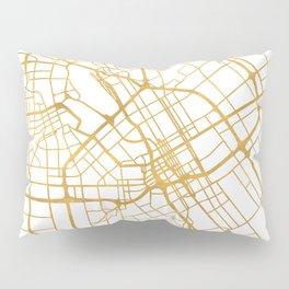SAN JOSE CALIFORNIA CITY STREET MAP ART Pillow Sham