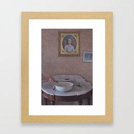 The Launching Framed Art Print