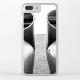 Air - Duct - Pipe Clear iPhone Case