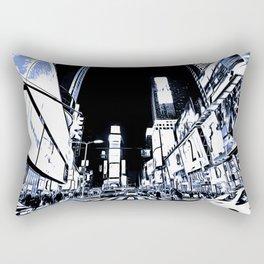 Times Square Art Rectangular Pillow