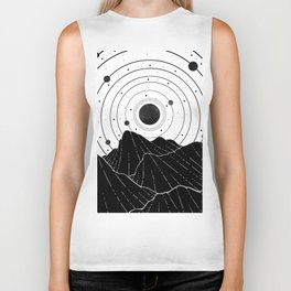 Dark Astronomy Biker Tank