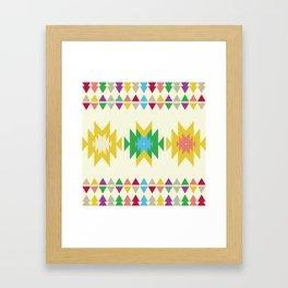 Folk Framed Art Print