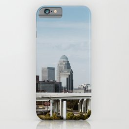 Downtown Louisville Skyline iPhone Case