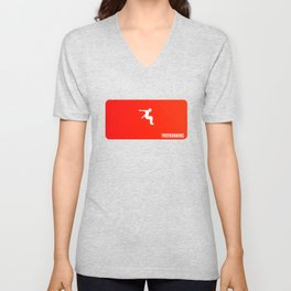 freerunning Unisex V-Neck