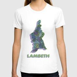 Lambeth - London Boroughs - Colour T-shirt