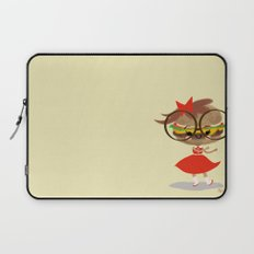 Burger Cutie Time Laptop Sleeve