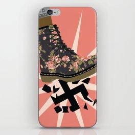 Smash Facism iPhone Skin