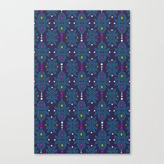 Stella Pattern Canvas Print