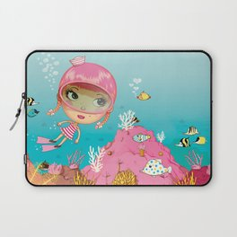SAILOR PINK Undersea Laptop Sleeve