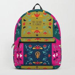 Feminist Quilt Backpack