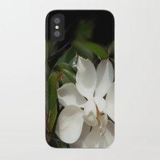 Magnificent Magnolia iPhone X Slim Case