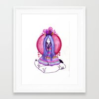 ethnic Framed Art Prints featuring ethnic by blueart