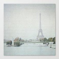 Letters From Liberté - Paris Canvas Print