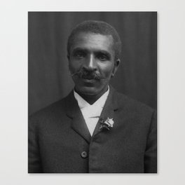 George Washington Carver Portrait Canvas Print