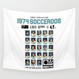 1974 Socceroos Our History Wall Tapestry