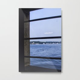 View From the Fort Metal Print