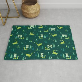 Cryptid Cuties: The Lochness Monster Rug