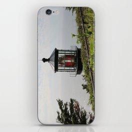 The Red Beacon On Tillamock Bay iPhone Skin