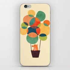 Whimsical Hot Air Balloon iPhone Skin