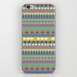 Berlin pattern iPhone Skin