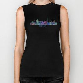 Berlin City Skyline HQ Biker Tank