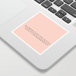 AWKWARD 2 Sticker