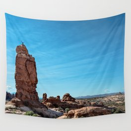 Arches Handstand Wall Tapestry