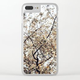 Fading autumn Clear iPhone Case