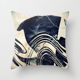 Print #II Throw Pillow