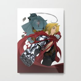Full metal alchemist Metal Print