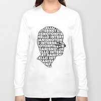danisnotonfire Long Sleeve T-shirts featuring Hello Internet! by ElectricShotgun