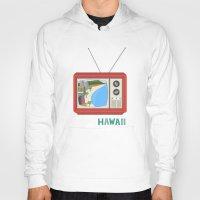 hawaiian Hoodies featuring Hawaiian TV by uzualsunday