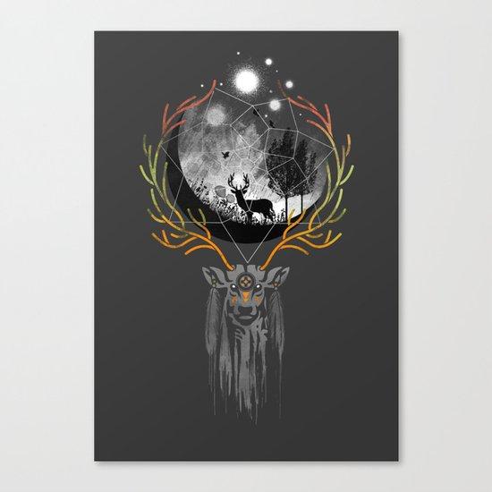 deer to dream Canvas Print